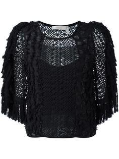 ажурная блузка с бахромой See By Chloé