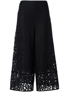 расклешенные брюки Floral Embroidered Lace See By Chloé