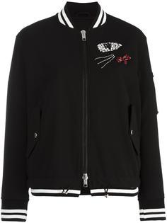 декорированная куртка бомбер Ermanno Scervino