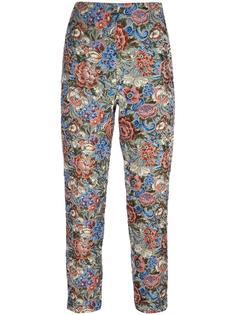 укороченные жаккардовые брюки Ermanno Scervino