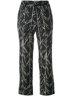 брюки с принтом ветвей Proenza Schouler