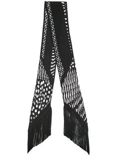 шарф с бахромой Rockins