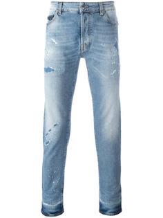 узкие джинсы Marcelo Burlon County Of Milan