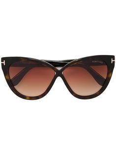 солнцезащитные очки в объемной оправе Tom Ford Eyewear