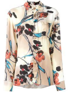 блузка с узором Lucid  Marni