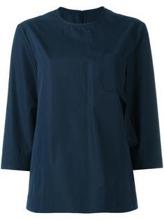 блузка с укороченными рукавами Maison Margiela