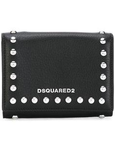кошелек Icon с заклепками Dsquared2