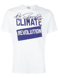 футболка с принтом revolution Vivienne Westwood Man