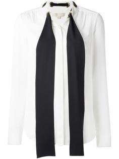 рубашка с завязками  Michael Michael Kors