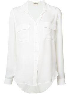 шелковая рубашка с карманами Lagence