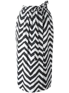 юбка с зигзагообразным узором Diesel