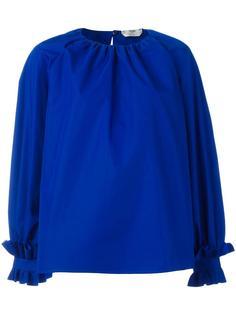 блузка свободного кроя Fendi