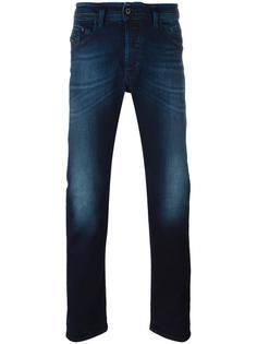 выбеленные джинсы прямого кроя Diesel