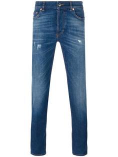 джинсы Cuban с рваными деталями Givenchy