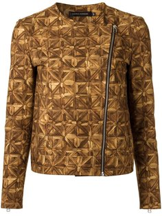 all-over print jacket Andrea Marques