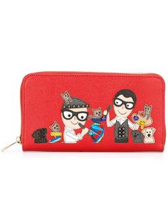 кошелек с нашивками  Dolce & Gabbana