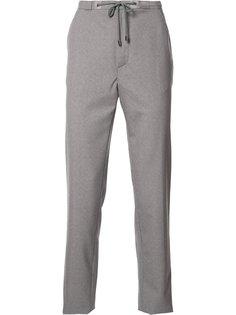 брюки слим со шнурком на поясе Maison Margiela