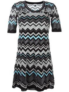 платье с зигзагообразным узором M Missoni