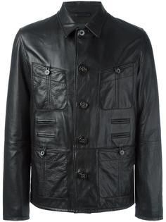 куртка с зернистым эффектом Lanvin