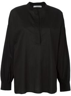 рубашка со сборками на спине Vince