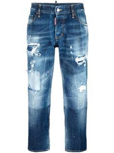 джинсы Boyfriend Dsquared2