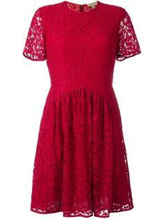 расклешенное кружевное платье  Burberry