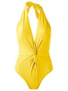 купальник с вырезом-халтер Martha Medeiros
