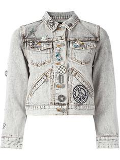 декорированная джинсовая куртка Marc Jacobs
