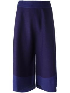 укороченные брюки свободного кроя  Issey Miyake