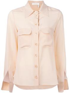 блузка с разрезами у манжетов Chloé