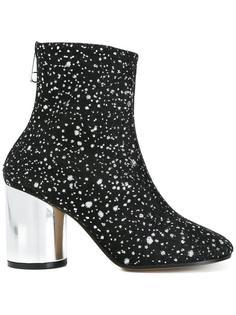 ботинки с отблеском  Maison Margiela