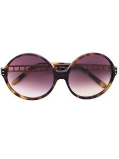 объемные солнцезащитные очки Linda Farrow
