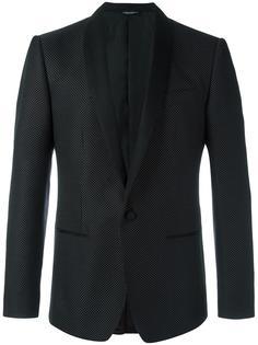 пиджак в мелкую точку Dolce & Gabbana