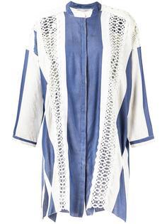 платье-рубашка Letícia в полоску Martha Medeiros