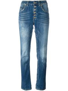 прямые джинсы на пуговицах Dondup