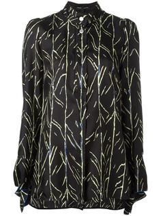 рубашка с ветвистым принтом Proenza Schouler
