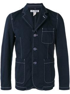 блейзер с контрастной строчкой Comme Des Garçons Shirt