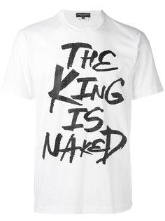 футболка The King Comme Des Garçons Homme Plus
