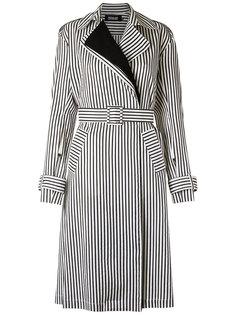 striped trench coat Reinaldo Lourenço