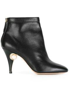 туфли Penelope с жемчужиной Nicholas Kirkwood