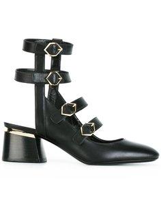 туфли Julia с ремешками Nicholas Kirkwood