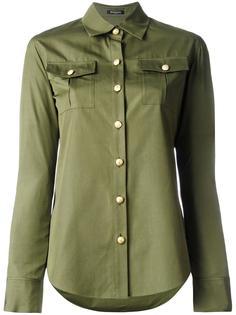рубашка с нагрудными карманами Balmain