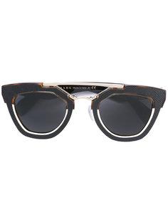 солнцезащитные очки с квадратной оправой Prada Eyewear