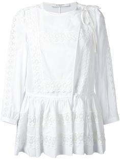 расклешенная блузка с завязками Givenchy