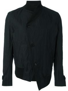 асимметричная куртка-бомбер Ann Demeulemeester Grise
