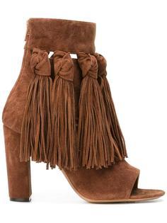 ботинки с бахромой  Chloé