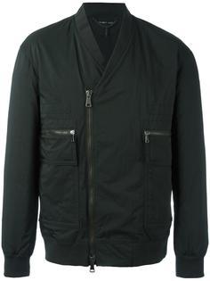 байкерская куртка-бомбер Helmut Lang