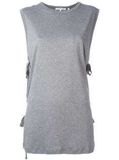 футболка без рукавов со шнуровкой Helmut Lang