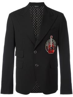 пиджак с заплаткой в форме гитары Dolce & Gabbana