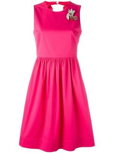 платье с брошью в виде вишен Nº21